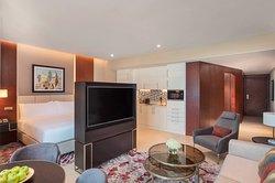 King Studio Living Room
