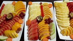 Pora fruit platter