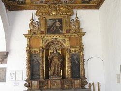 One of the fours altars devoted to the four women saints.