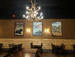Antler Chandeliers & Tourism Posters