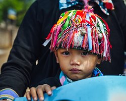 A Tay ethnic baby in Ha Giang