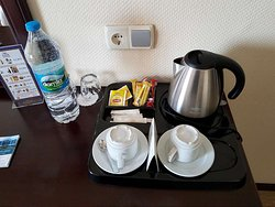 Tea and coffee in the room