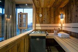 Bergchalet Finnische Sauna
