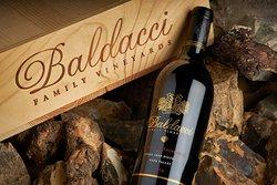 Baldacci Family Vineyards' Black Label Cabernet.