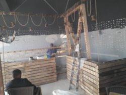 Building the pub