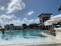 Mediterranean Pool - great pool bar and fun activities through the day.  Make sure you check the daily schedule they put in your room for pool activities schedule.