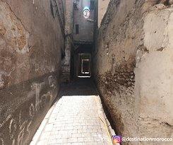 Destination Morocco Narrow street in Fes