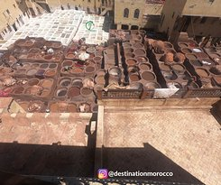 Destination Morocco The largest leather tanneries in Fes