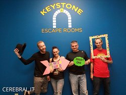 We escaped the room!