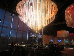 Lights over Bar, Casino M8trix, San Jose, CA