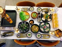 HELLO IGLOO BBQ Special Dinner set