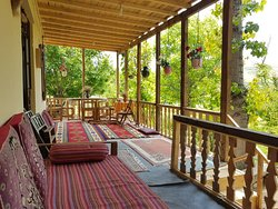 It is our balcony, while we call in TELAR in our language. It is most popular place in our houses. You can chill here and enjoy landscape.