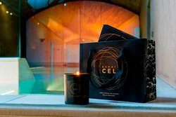 Caja Regalo Espai CEL con vela aromática