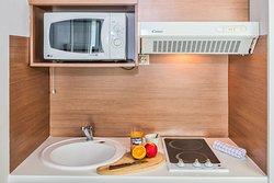 kitchenette dans les appartements