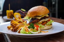Fat Hog burger !😋