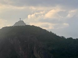 Corcovado from the rooftop.