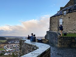 Stirling Castle, December 2019.  ©Heather Stueve