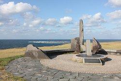 「北緯40度の地」記念碑