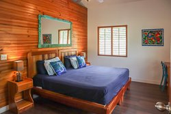 Toucan Room. Kind bed or two singles.
