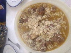 Este meu prato estava divinal. Já não existe porque o conteudo já foi comido por mim.