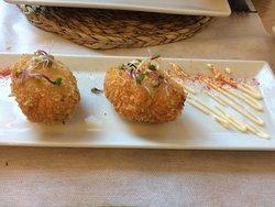 Croquetas de pollo, cremosa y deliciosa!