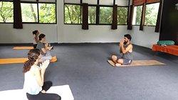Yoga Class @ Him Gange Resort