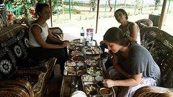 Lunch in Open area