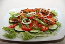 Salad Gambas