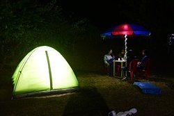 The simplicity of tent stay and an experience of outdoor living.