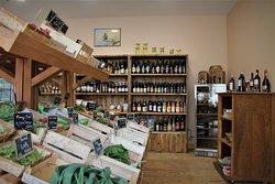 Bel assortiment de produits bio et locaux