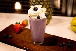 Blueberry Ice Cream Shake