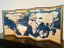 昔の世界地図。
