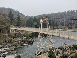 Suspension Bridge- this does wobble as you walk along the middle, but you are well protected.