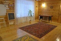 Зона для отдыха в гостевом доме
