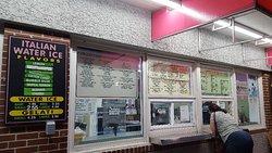 Older style ice cream stand.