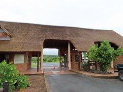 HLuhuluwe/Imfolozi Game Park entrance