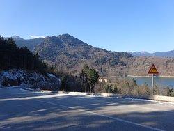 On our way to the lake - Lake Plastiras, Greece