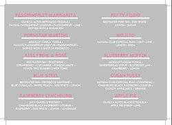 These are the amazing drinks that we put together from our large list of cocktails that are Hen party approved. #BeAtFun  #TheOnlyPlace2Be