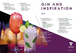 You can never go wrong with a little Gin-spiration  Our Gin inspired drink will have you going head over heals for another  #ThePlcae2Be