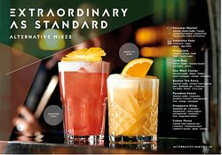 Be At One mixologist go above and beyond to cater to everyone taste buds, so here is our Extraordinary standard. #ThePlace2Be