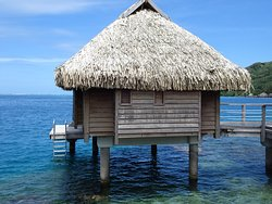 Manava Beach Resort Overwater Bungalow 418