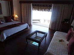 Manava Beach Resort Spacious Overwater Bungalow 418