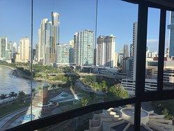 Fantastic city and bay views