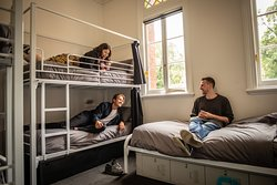 Dorm room at Backpackers in Melbourne