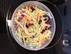 01-13-20 Broccoli and Dried Cranberry Slaw