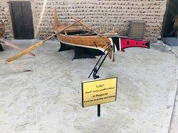 舟の展示。