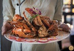 Yummy crab dish  Being beautiful @Sadec6  #Sadec6 #68ĐặngVũHỷ ---------------- Sadec 6 - Cuisines from the heart of Mekong - Nhà hàng ẩm thực di sản vùng Mekong 68 Đặng Vũ Hỷ, Sơn Trà, Đà Nẵng (https://g.page/Sadec6?) https://m.me/Sadec6 Hotline: 094 149 68 66 https://sadec6restaurant.com Instagram: sadec6danang #MonNgonDaNang #Sadec6 #MekongFood #VietnameseFood #Danang