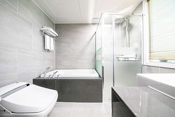 Deluxe Family Twin Bathroom 1