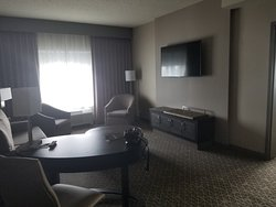 First stay at new hotel per comps