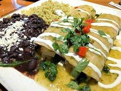 Veracruz Enchiladas